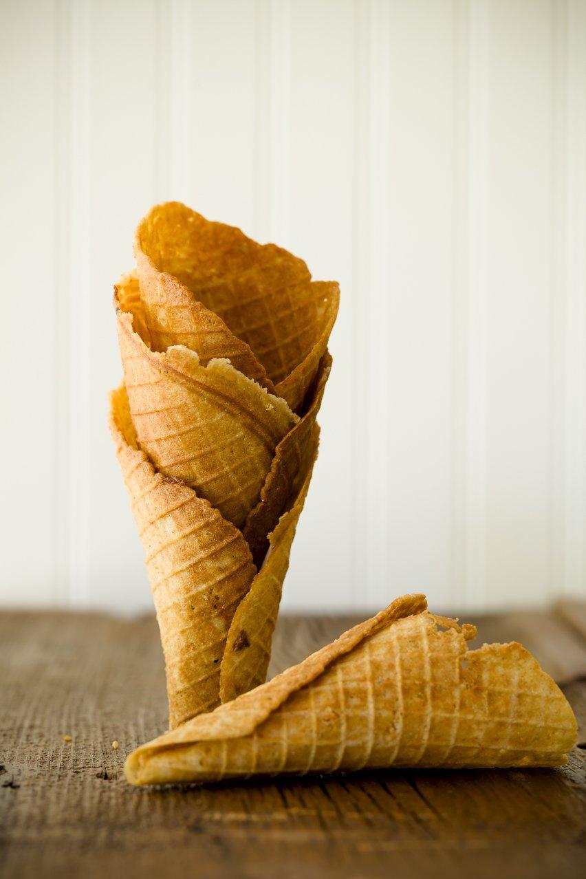 Graham Cracker Waffle Cones {Appreciation Post} | Cupcake Project