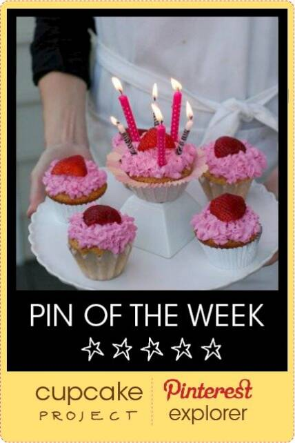 yellow cupcakes pin of the week