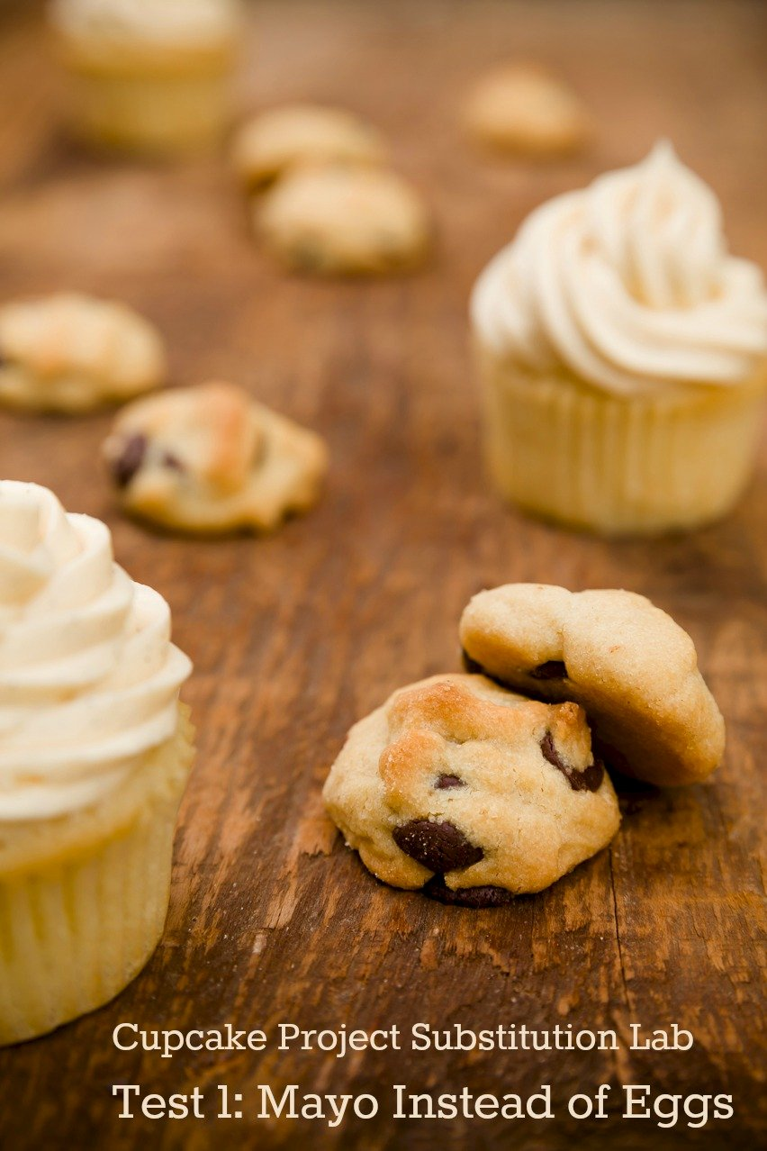Cupcake Project Substitution Lab, Test 1: Using Mayonnaise as an ...