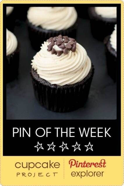 Mocha Chocolate Chip Espresso Cupcakes from The Cake Merchant – Pin of the Week