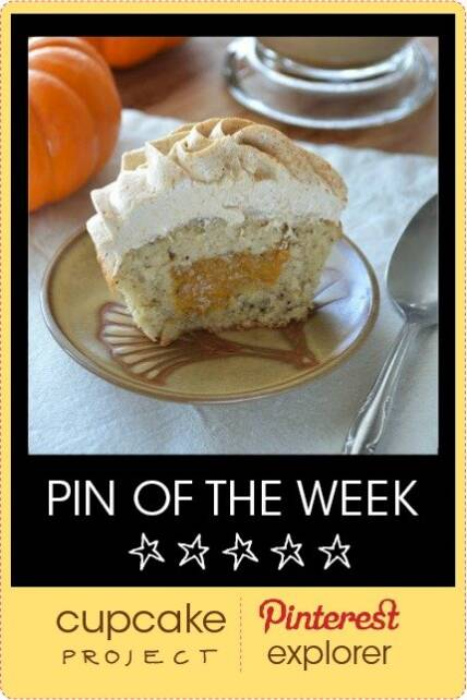 Pumpkin Spice Latte Cupcakes with Homemade Pumpkin Spice Filling – Pin of The Week