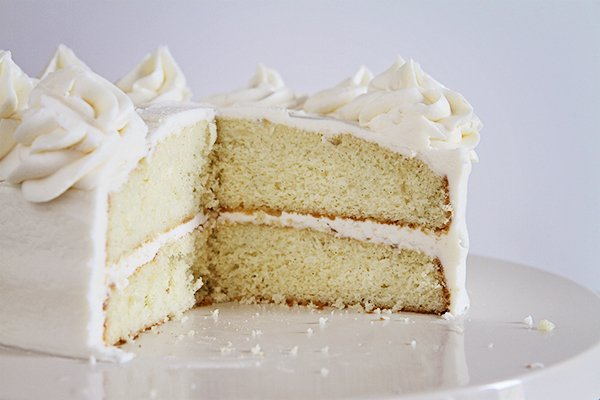Make A Homemade Vanilla Cake