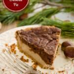 Chocolate Chestnut Pie