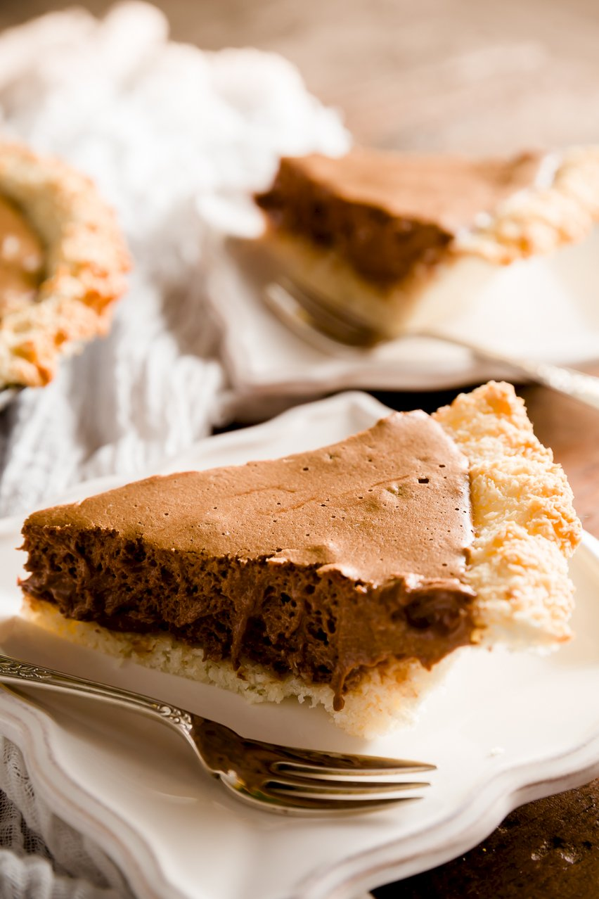 Passover Pie - Chocolate Mousse Pie with Coconut Macaroon Crust ...