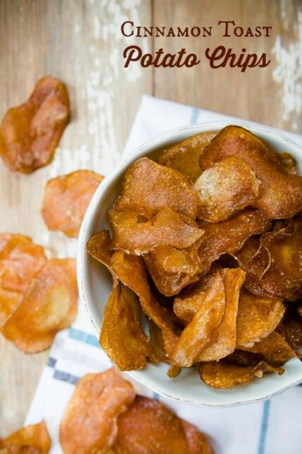Cinnamon Toast Potato Chips