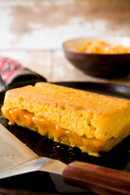 Mac 'n' Cheese Grilled Cheese