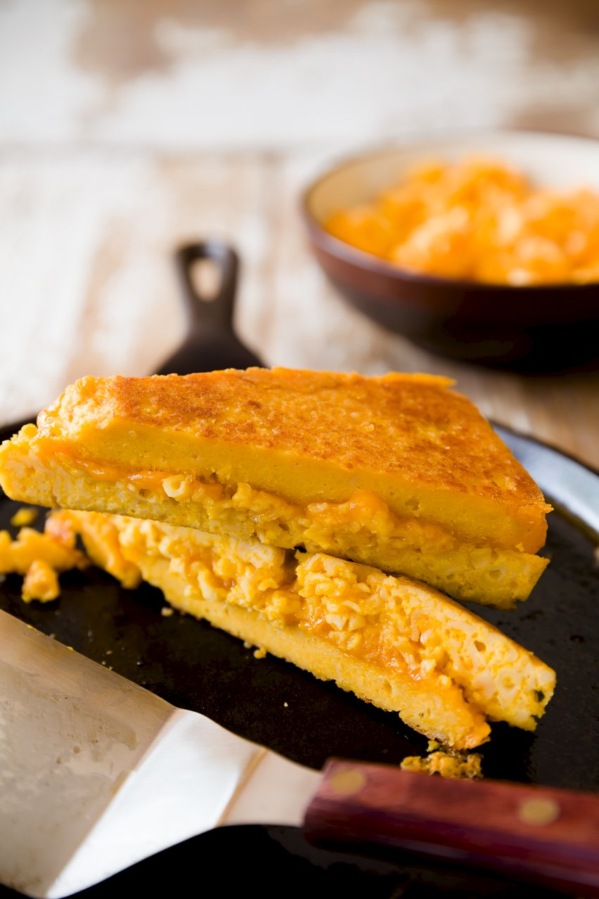 Grilled Cheese On Mac N Cheese Bread Cupcake Project