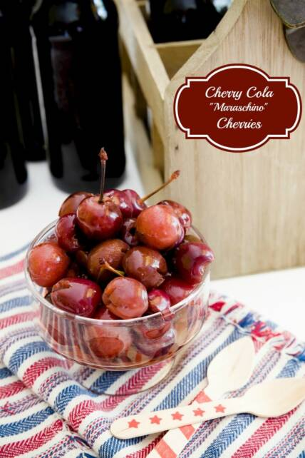 "Cherry Cola ""Maraschino"" Cherries"