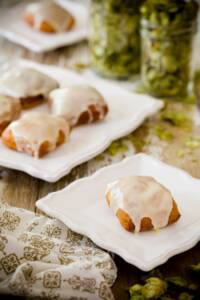 Hops Donuts with Lemon Curd Glaze