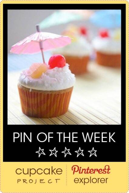 Piña Colada Cupcakes from Teacher By Day Chef By Night – Pin of the Week