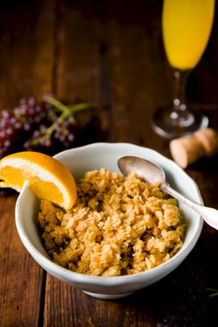 Mimosa Oatmeal Makes Any Morning a Celebration