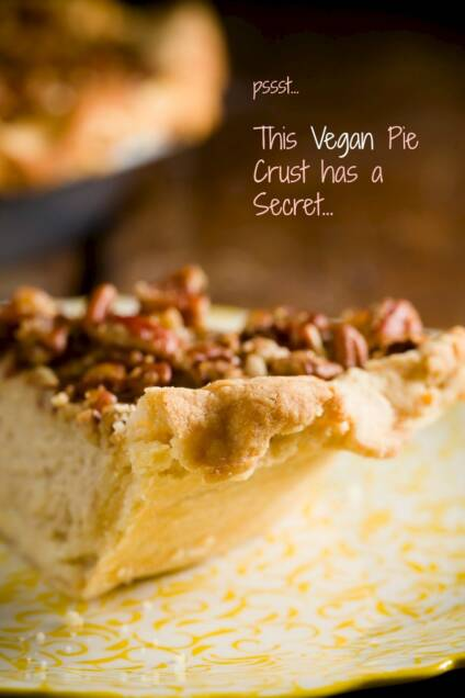 The Secret To This Tender, Flaky Vegan Pie Crust Will Surprise You