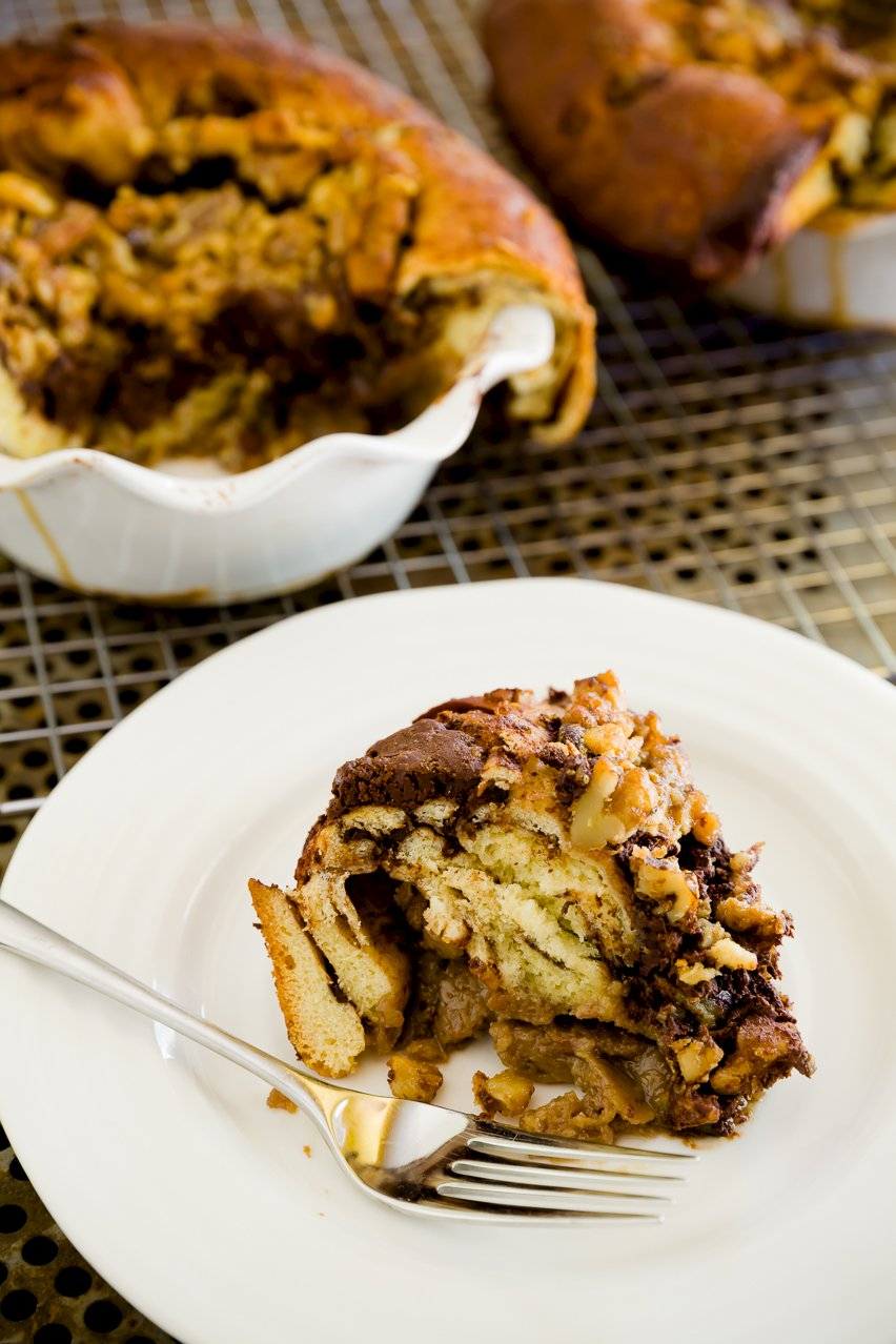 Chocolate Babka Pie – A Classic Upgraded | Cupcake Project