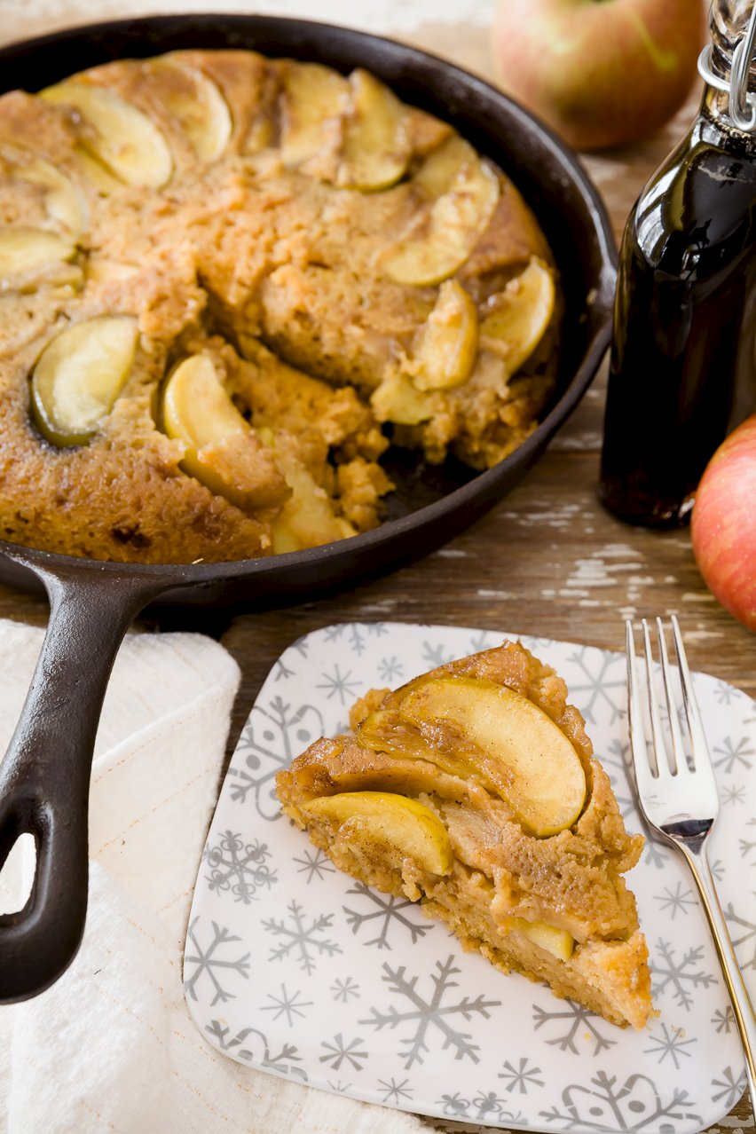 Maple Cake With Brown Butter Apples Recipes — Dishmaps
