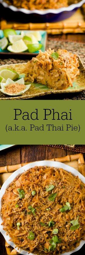 Pad Phai (a.k.a. Pad Thai Pie)