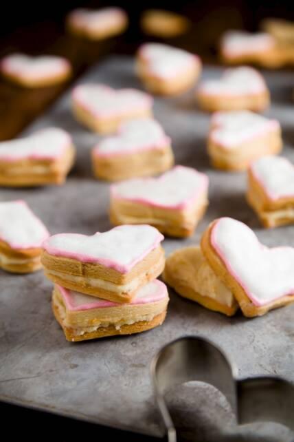 Honey Orange Mascarpone Sandwich Cookies