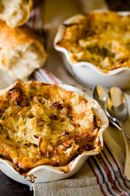 Your French Onion Soup is Even Better as a Pie