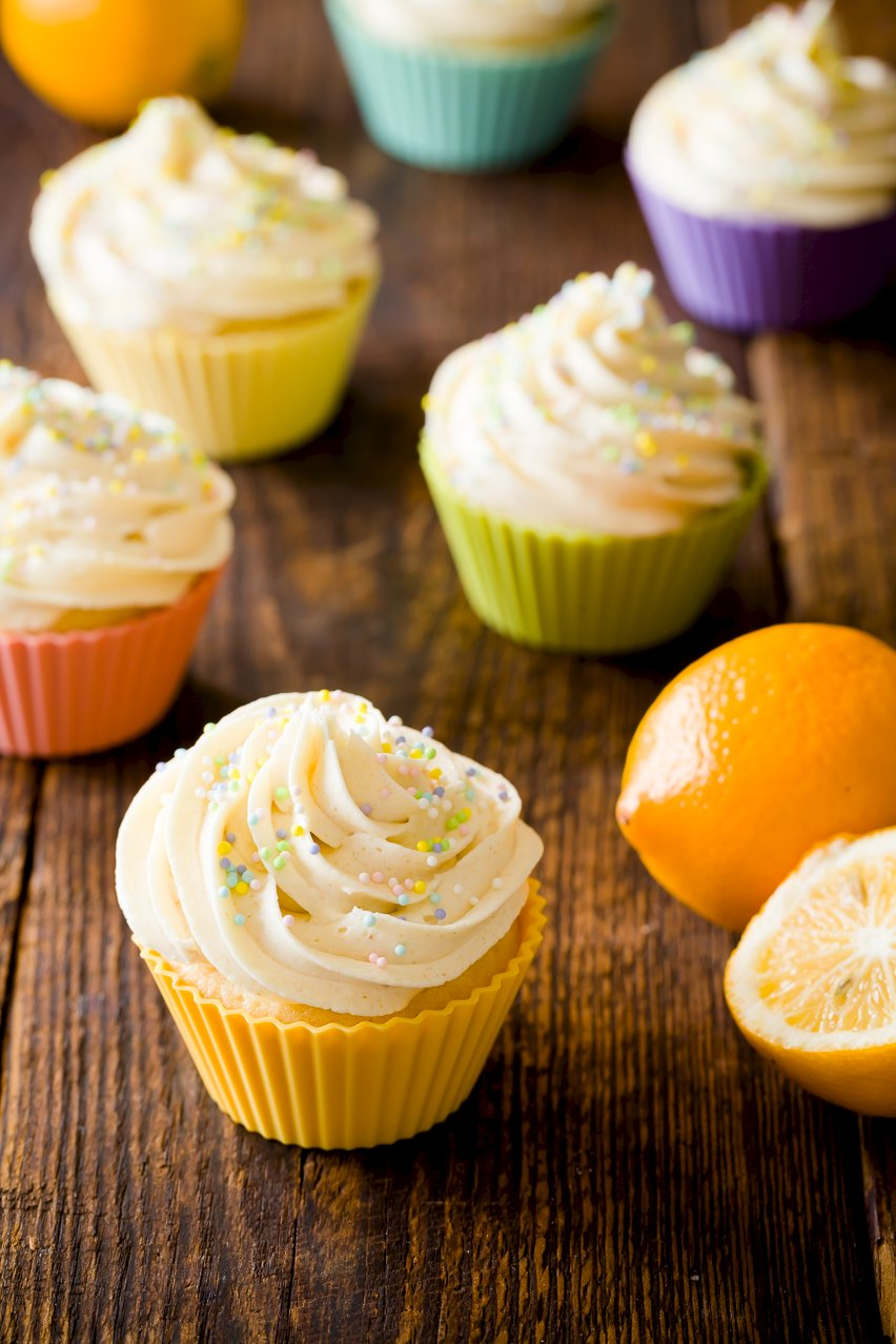 Meyer Lemon Cupcakes | Cupcake Project