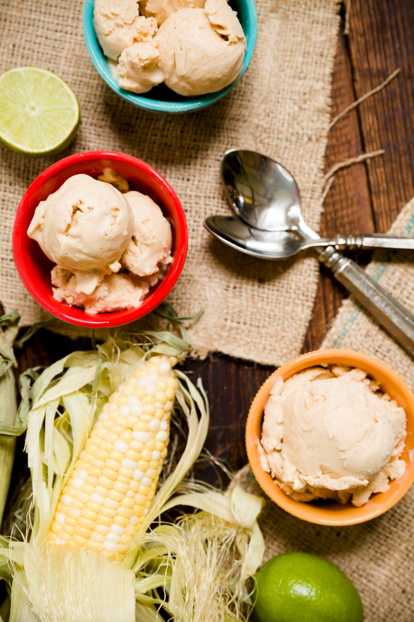 Spicy Chocolate and Mexican Street Corn Ice Cream Cupcakes | Cupcake ...