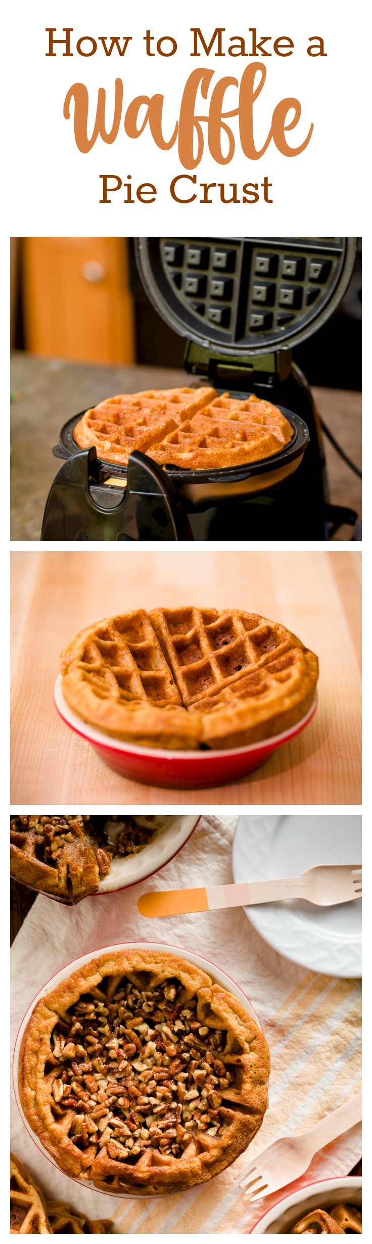 How to Make Waffle Pie Crust and Change Your Pies Forever