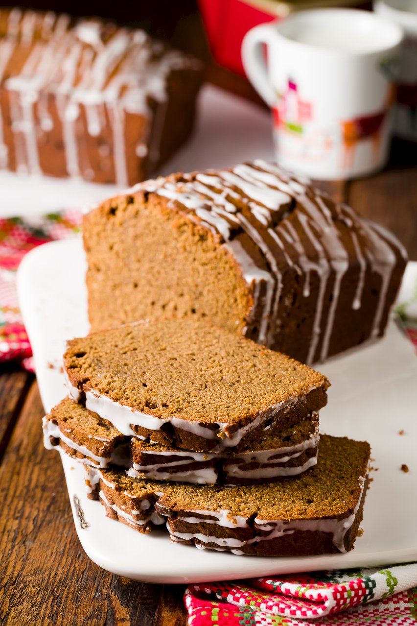 Spicy Almond Gingerbread