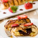 Chocolate Almond Cheese Danish