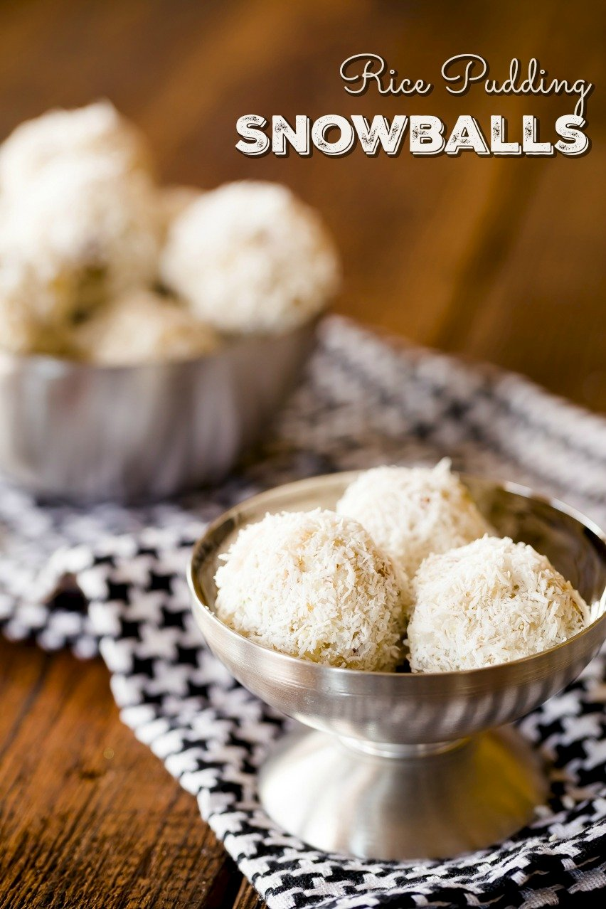 Rice-Pudding Balls Recipe — Dishmaps
