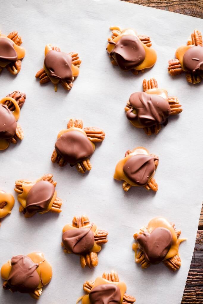 Make Chocolate Turtles At Home