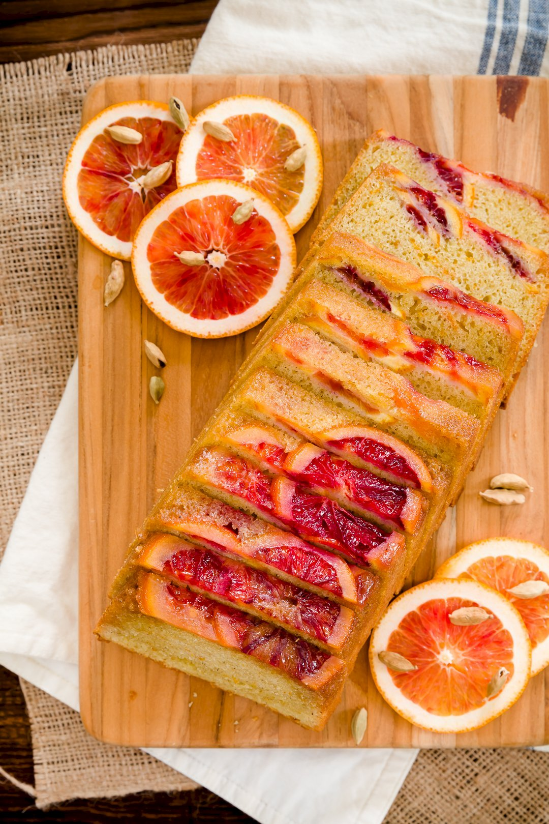 Blood Orange and Cardamom Olive Oil Pound Cake | Cupcake Project