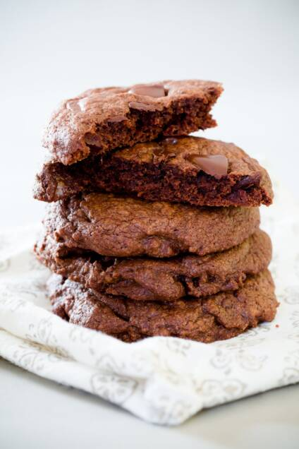 Double Chocolate Brownie Cookies The Way You Like Them
