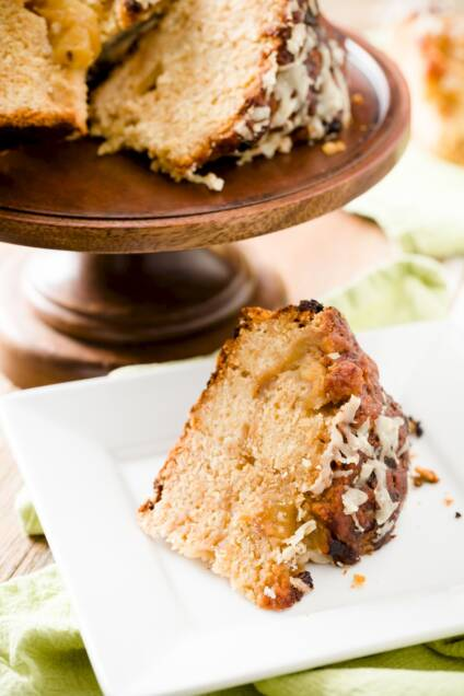 Caramel Apple + Cheese Soda Bread