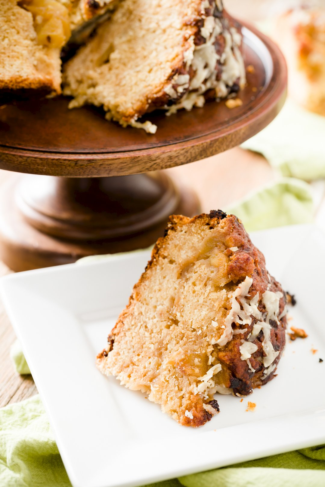 Caramel Apple + Cheddar Soda Bread