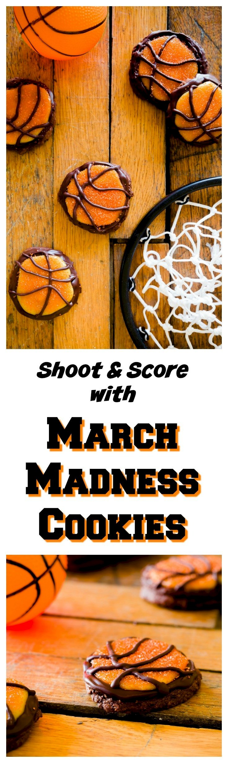 Shoot and Score with March Madness Cookies