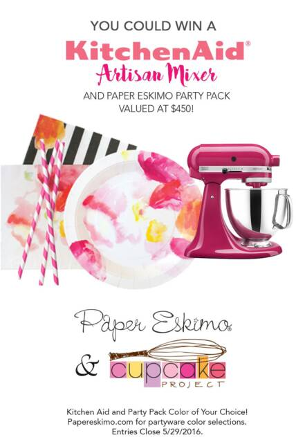 KitchenAid Mixer and Paper Eskimo Party Pack Giveaway ($450 Value!)