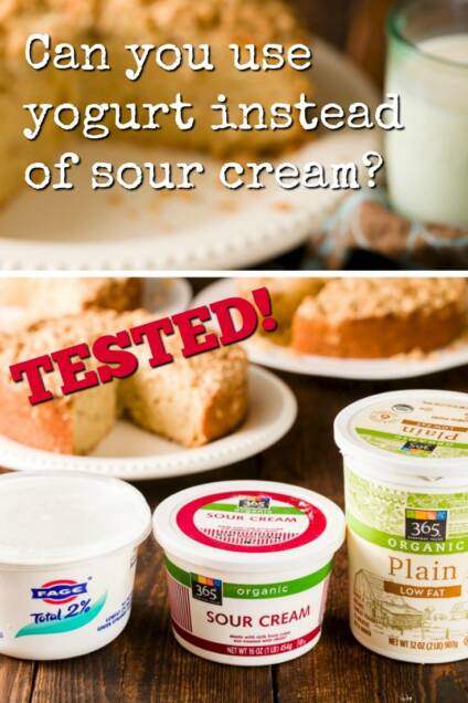 Can You Use Yogurt Instead of Sour Cream?