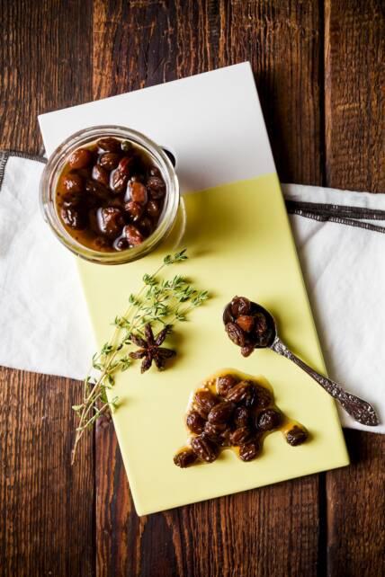 Pickled Raisins
