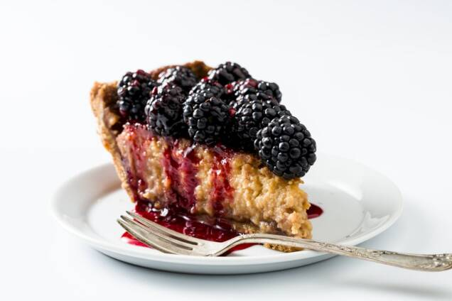 Blackberry Potato Pie