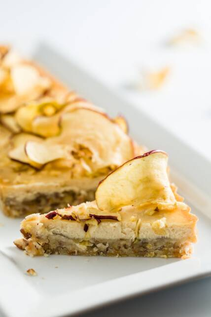 Apple and Honey Cheesecake