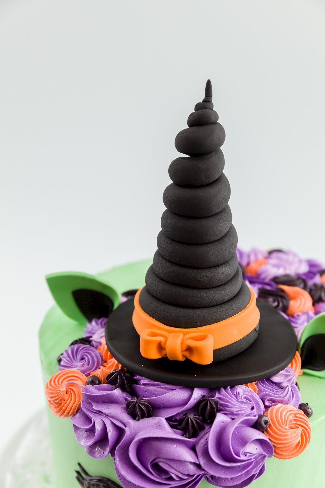halloween witch unicorn cake cupcake project
