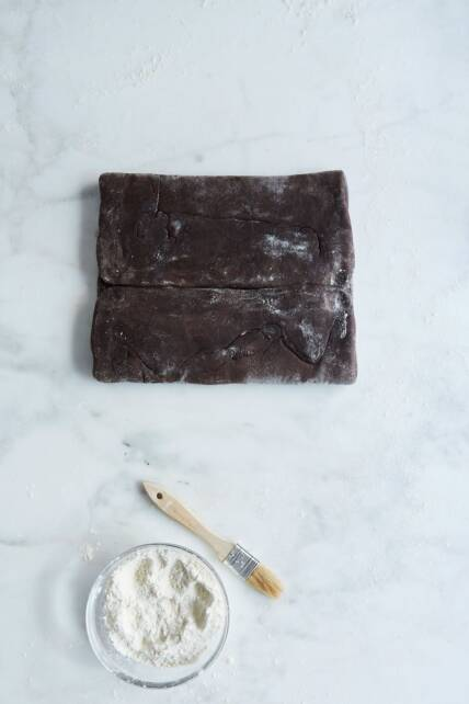 chocolate puff pastry