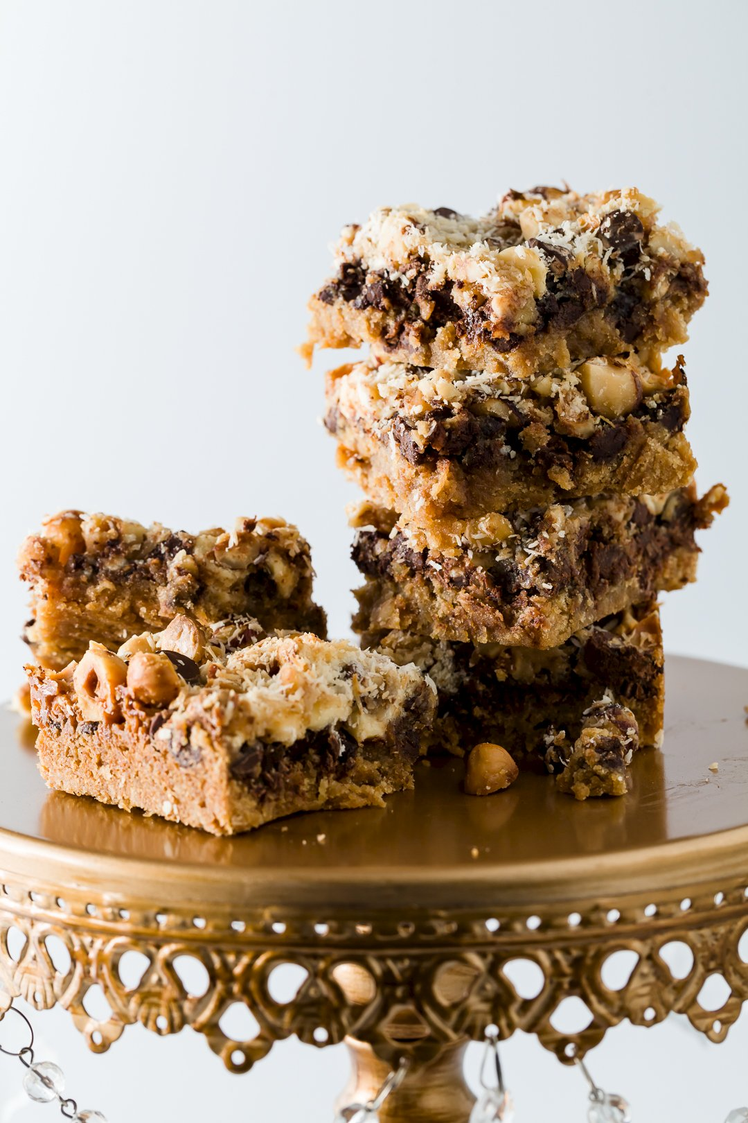 Hazelnut FrappaChata 7 Layer Bars | Cupcake Project