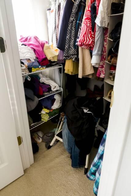 my closet - before